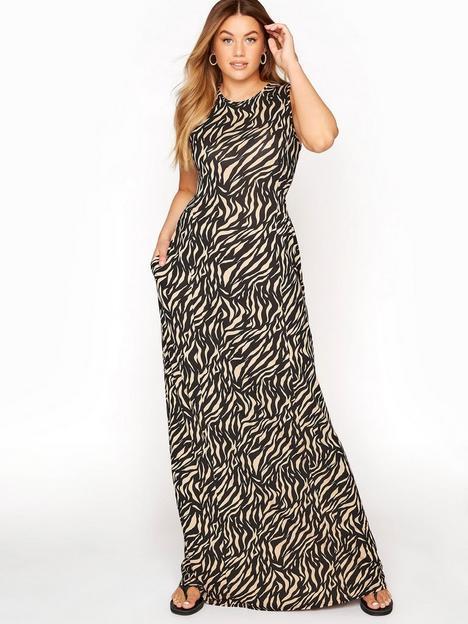 long-tall-sally-zebra-print-maxi-dress