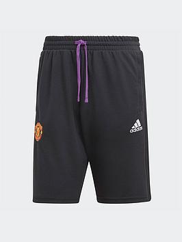 adidas-manchester-united-travel-shorts