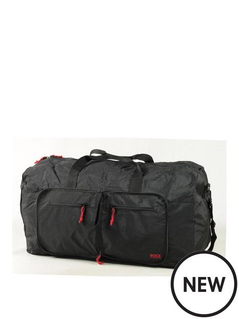 rock-luggage-large-foldaway-holdall-black