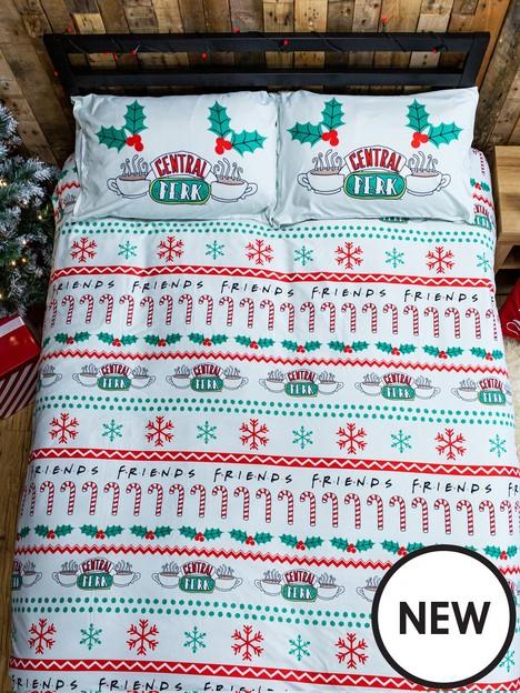friends-christmas-double-duvet-cover-set