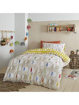 pineapple-elephant-pineapple-elephant-minbu-elephant-cotton-duvet-set-double