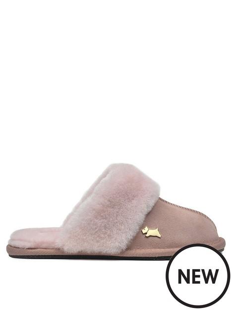 radley-chelsea-creek-shearling-slipper-pink