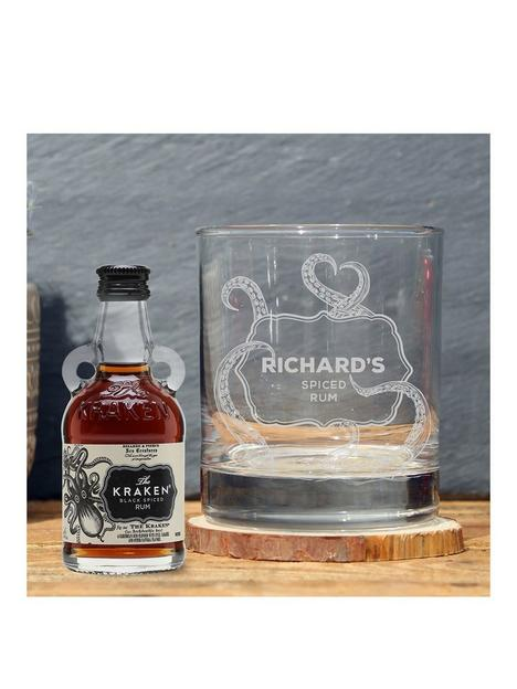 signature-gifts-personalised-whiskey-glass-kraken-rum