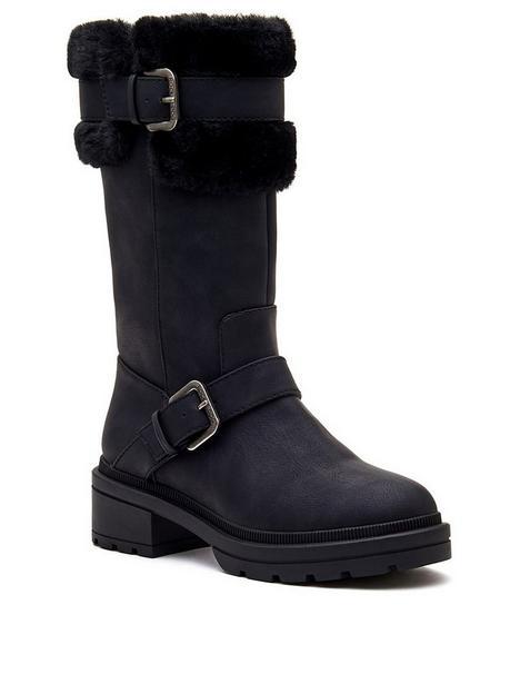 rocket-dog-igloo-knee-boot-black