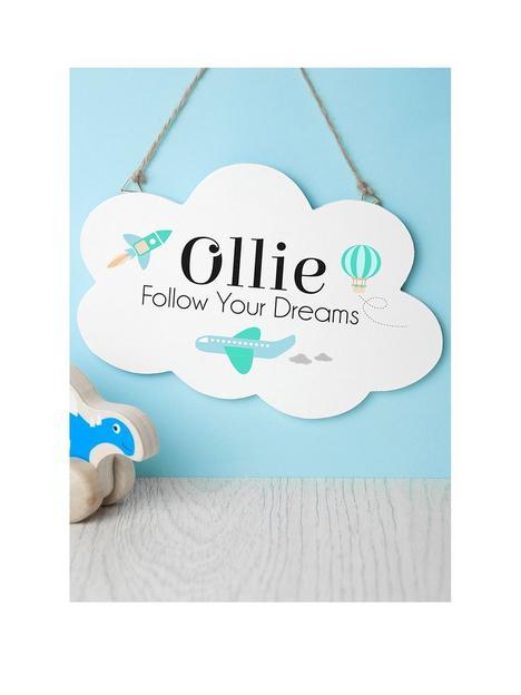 treat-republic-personalised-dream-big-little-one-cloud-sign