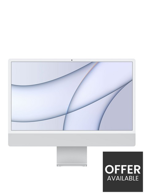 apple-imac-m1-2021-24-inch-with-retina-45k-display-8-core-cpu-and-7-core-gpu-16gb-ramnbsp256gb-storage-with-optional-microsoft-365-family-15-months-silver
