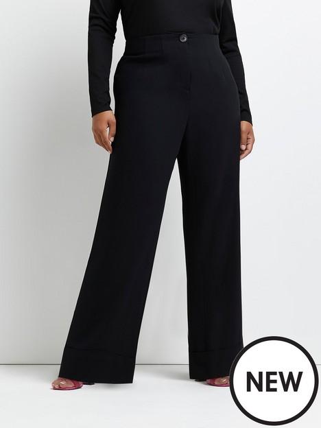 ri-plus-elasticated-smart-trouser-black