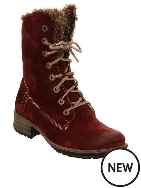 josef-seibel-sandra-lace-up-calf-boots-red