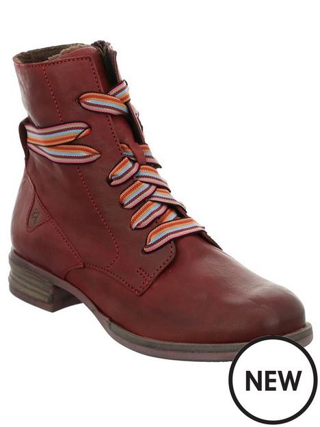 josef-seibel-sanja-ankle-boots-red