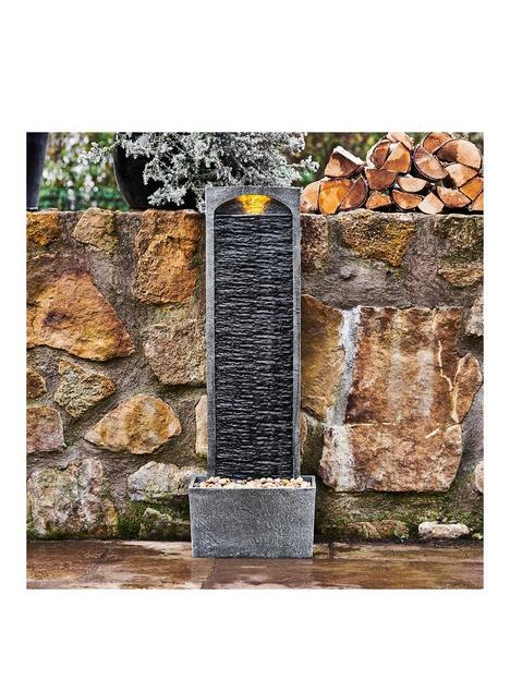 peaktop-water-fountain-indoor-conservatory-garden-slate-with-lights