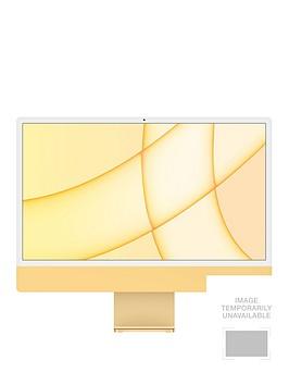 apple-imac-m1-2021-24-inch-with-retina-45k-display-8-core-cpu-and-8-core-gpu-256gb-storage-with-optional-microsoft-365-family-15-months-yellow