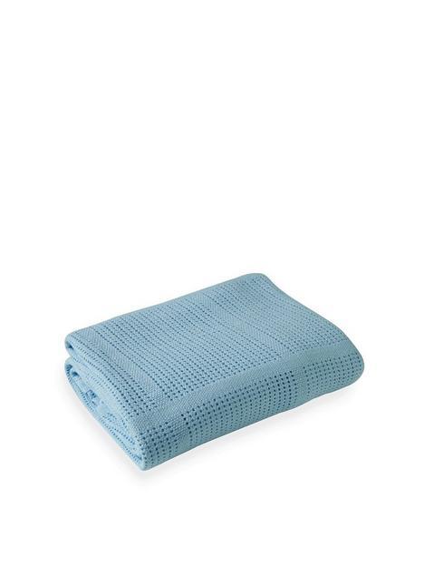 clair-de-lune-cellular-cot-bed-blanket-blue