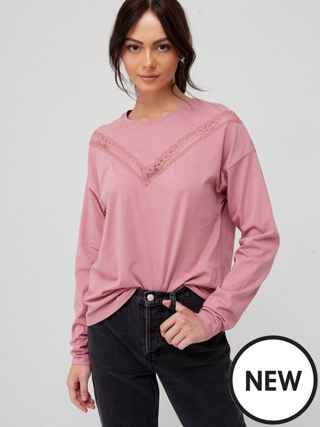 v-by-very-lace-insert-long-sleeve-t-shirt-rose