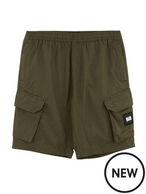 weekend-offender-cotton-ripstop-shorts-dark-army