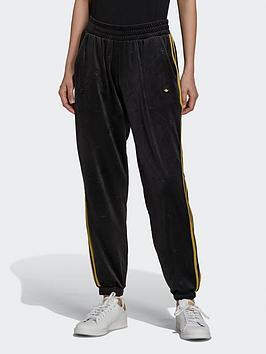 adidas-originals-track-joggers-in-velvet-with-embossed-originals-monogram-and-gold-stripes