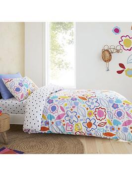pineapple-elephant-blomme-floral-duvet-set