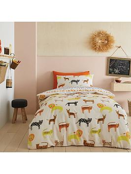 pineapple-elephant-khari-animals-duvet-set