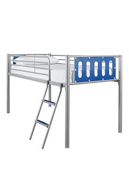 kidspace-cyber-mid-sleeper-kids-bed-frame-with-optional-mattress