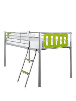 kidspace-nbspcyber-mid-sleeper-bed-frame-with-optional-mattress