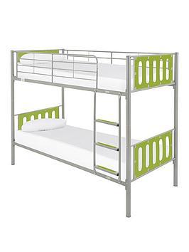 Kidspace Cyber Bunk Bed Frame Littlewoods Com