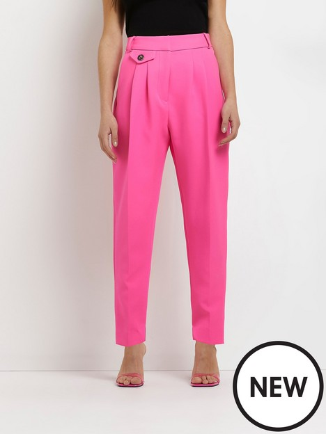 ri-petite-pleated-tapered-trouser-pink
