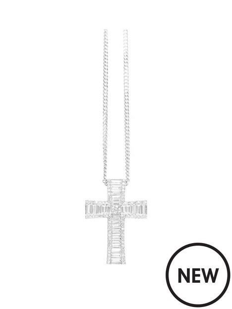say-it-with-diamonds-say-it-with-diamonds-cathedral-cross-necklace