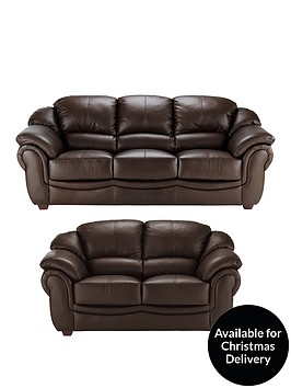 napoli-3-seaternbspplus-2-seaternbspleather-sofa-set-buy-and-save