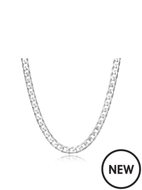 beaverbrooks-silver-curb-chain-50cm