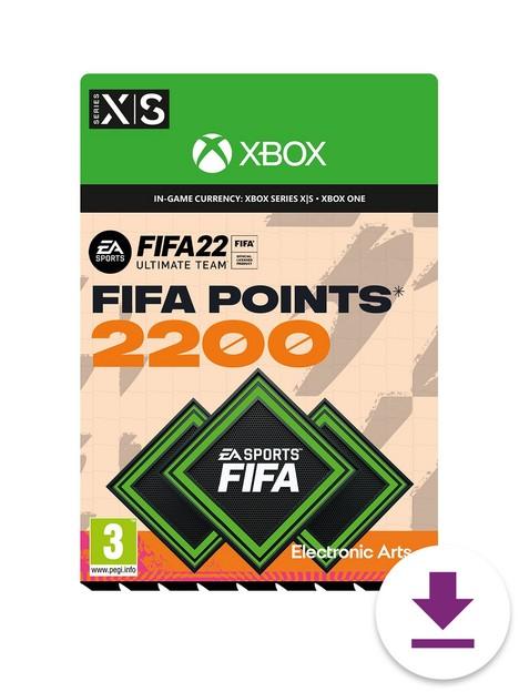 xbox-fifa-22-2200-fifa-points