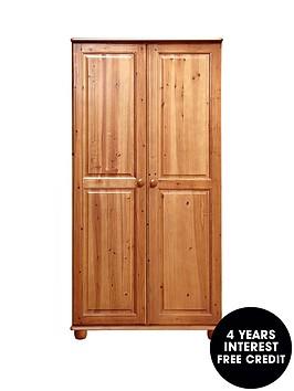 stanton-solid-pine-2-door-wardrobe