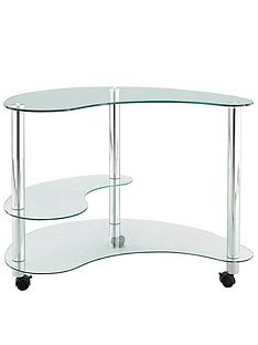 kidney-shaped-glass-computer-desk