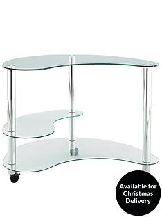 kidney-shaped-glass-computer-desk
