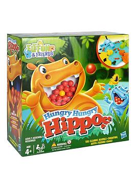 Hasbro   Elefun &Amp; Friends Hungry Hungry Hippos Game From  Gaming
