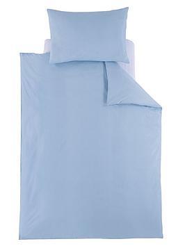 ladybird-plain-toddler-bedding-blue