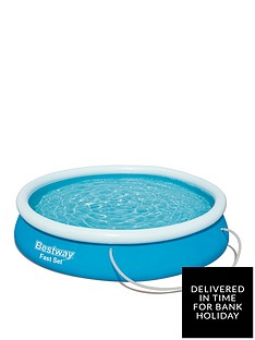 bestway-12ft-fast-set-pool-with-filter-pump
