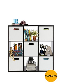 kidspace-kube-3-x-3-shelf-and-cupboard-storage-unit