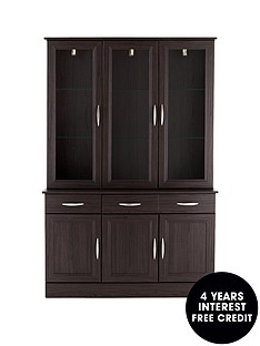 consort-kensington-ready-assembled-3-door-display-unit