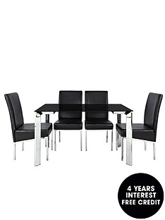 matrix-glass-top-dining-table-and-4-chairs