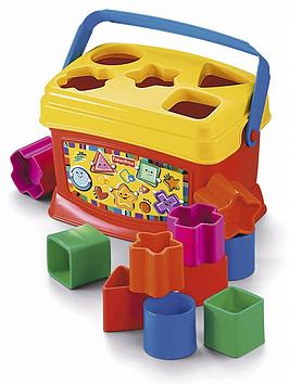 FisherPrice Brilliant Basics Babys First Blocks