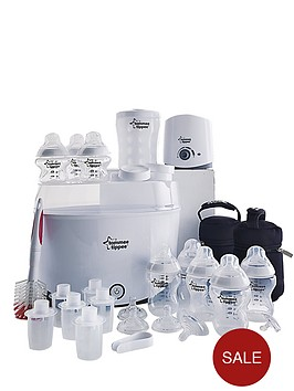 tommee-tippee-closer-to-nature-complete-starter-baby-bottle-warmer-kit