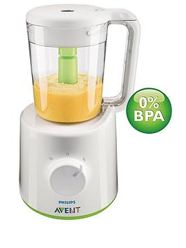 Avent    Combined Baby Food Steamer And Blender