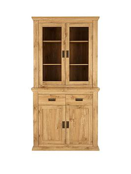 Very  Clifton 2 Door Glass Display Unit
