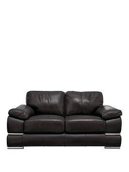 Very Primo Italian Leather 2 Seater Sofa