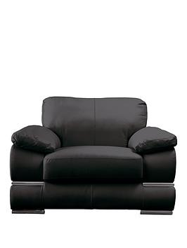 Very Primo Italian Leather Armchair Picture