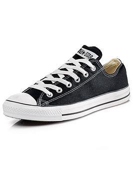 Converse Converse Chuck Taylor All Star Ox Plimsolls - Black Picture