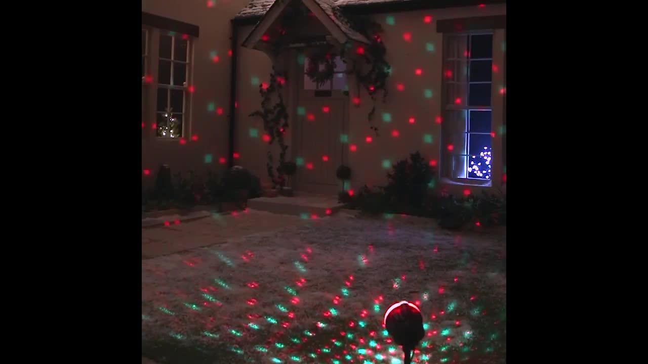 High Street Tv Startastic Holiday Motion Led Slide Projector