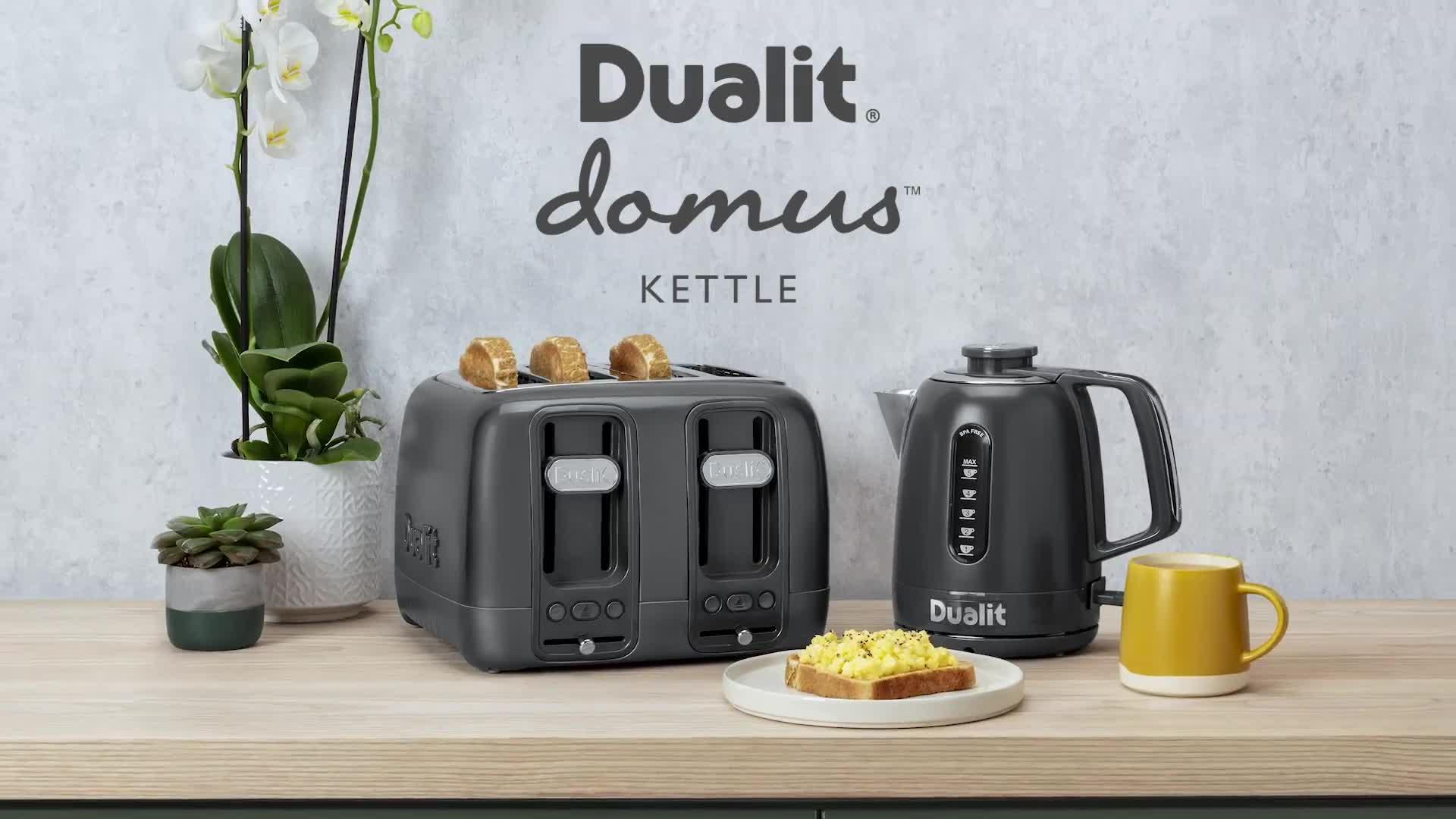 Grey Dualit Domus Kettle